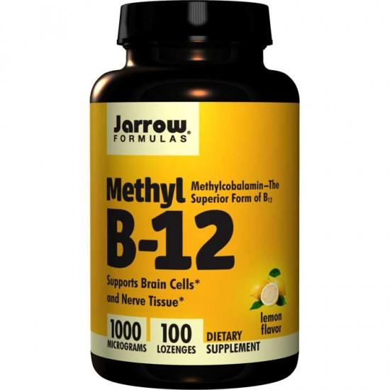 Methyl B-12 1000mcg 100 lozenges - Jarrow Formulas
