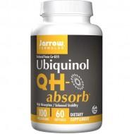 Ubiquinol QH-absorb 100mg 60 softgels - Jarrow Formulas