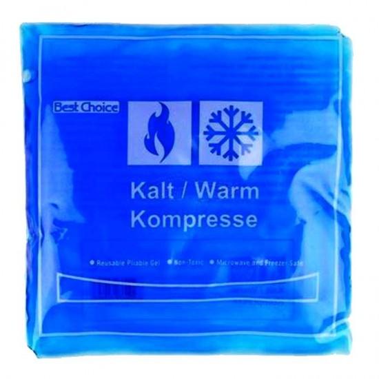 Hot Cold Pack 150gr 15x15cm - Best Choice / Κομπρέσα τζελ για κρύο-ζεστό επίθεμα