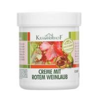Red Vine Leaf  Cream 100ml - Kräuterhof / κρέμα για κουρασμένα πόδια και φλέβες