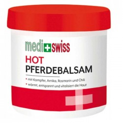 Hot Pferdebalsam 250ml - Medi+Swiss / Αναλγητική θερμαντική κρέμα