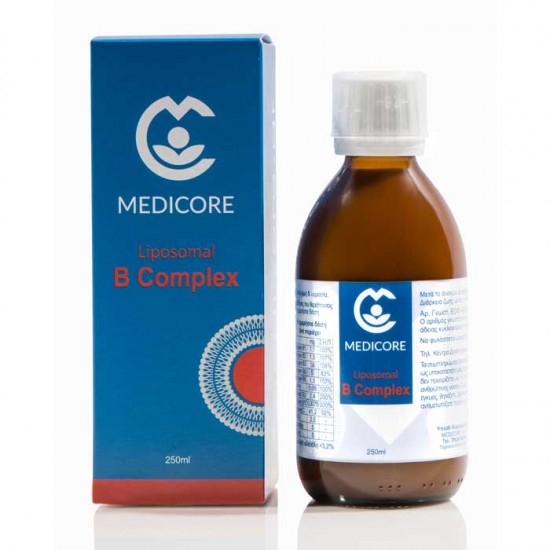 Liposomal B Complex 250ml - Medicore / Λιποσωμιακό Σύμπλεγμα Βιταμινών Β