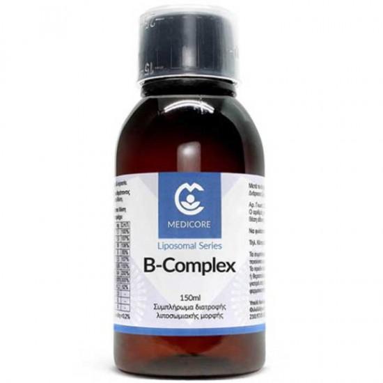 Λιποσωμιακή Φόρμουλα B Complex 150ml - Medicore / Liposomal