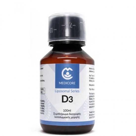 Λιποσωμιακή Bιταμίνη D3 100ml - Medicore / Liposomal Vitamin