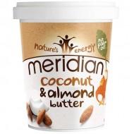 Natural Almond & Coconut Butter 454gr - Meridian Foods / Αμυγδαλοβούτυρο με Καρύδα