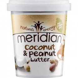 Natural Peanut & Coconut Butter 454gr - Meridian Foods / Φυστικοβούτυρο με Καρύδα