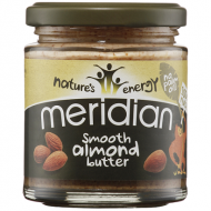 Smooth Almond Butter 170γρ - Meridian Nature's Energy / Βούτυρο Αμυγδάλου