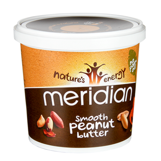 Peanut Butter Smooth 1kg - Nature's Energy Meridian / Υγιεινές Τροφές - Φυστικοβούτυρο