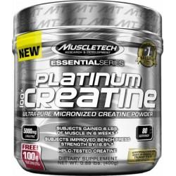 Platinum Micronized Creatine 400γρ - 80 Δόσεις - Muscletech / Κρεατίνη
