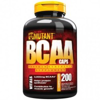 BCAA 200 caps - Mutant