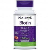 Biotin Fast Dissolve 5000mcg 90 ταμπλέτες - Natrol / Βιταμίνες