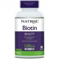 Biotin 5000mcg 150 tablets - Natrol / Βιοτίνη