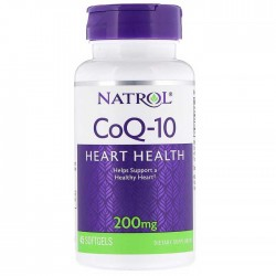 CoQ-10 200mg 45 softgels - Natrol