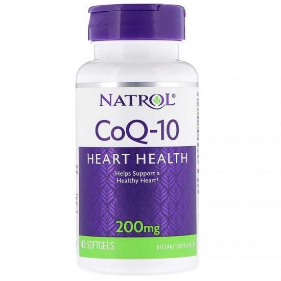 CoQ-10 200mg 45 softgels - Natrol