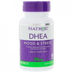 DHEA 50mg 60 ταμπλέτες - Natrol / Ειδικά Προϊόντα