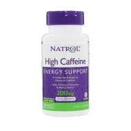 High Caffeine 200mg 100 ταμπλέτες - Natrol / Καφεΐνη