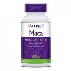 Maca Extract 500mg 60 κάψουλες - Natrol / Σεξουαλική Υγεία