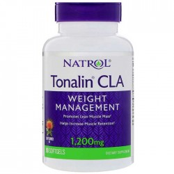 Tonalin CLA 1200mg 90 μαλακά τζελ - Natrol / Λιποδιαλύτης