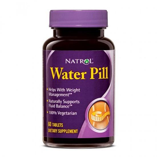 Water Pill 60 ταμπλέτες - Natrol / Λιποδιαλύτες