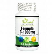 Vitamin C-1000 with Bioflavonoids 50 tabs - Natural Vitamins