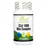 CLA 1000mg with Fish Oil 60 caps - Natural Vitamins