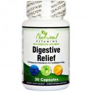 Digestive Relief 30 caps - Natural Vitamins
