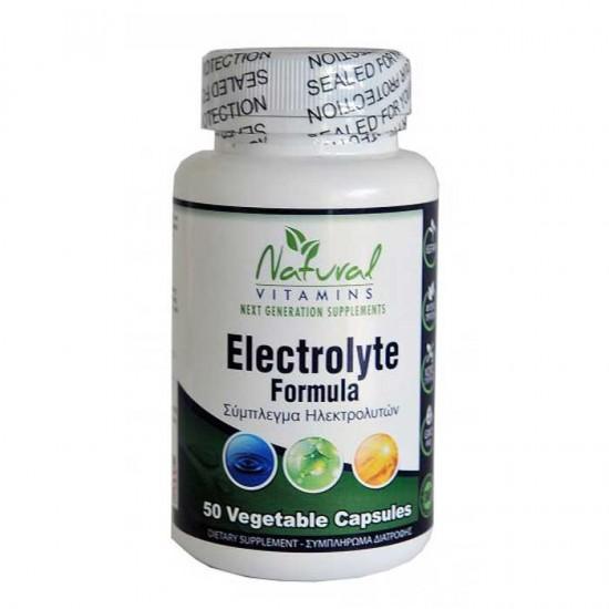 Electrolyte Formula 50 vcaps - Natural Vitamins