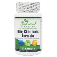 Hair Skin Nails Formula 30 tabs - Natural Vitamins