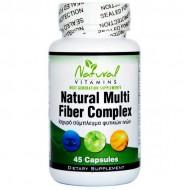 Natural Fiber Complex 45 caps - Natural Vitamins