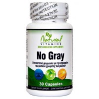 No Gray 30 caps - Natural Vitamins