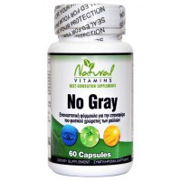 No Gray 60 caps - Natural Vitamins