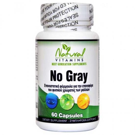 No Gray 60 caps - Natural Vitamins