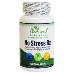 NO Stress RX 60 caps - Natural Vitamins