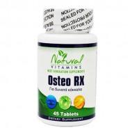 Osteo Rx 45 tabs - Natural Vitamins