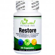 Restore 30 caps - Natural Vitamins
