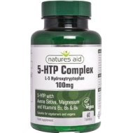 5-HTP Complex 100mg 60 ταμπλέτες - Natures Aid / Αμινοξέα - Χάπια