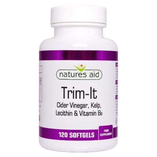 Trim-It 120 Softgels - Natures Aid / Λιποδιαλύτες