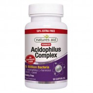 Acidophilus Complex 5 billion 90 κάψουλες Natures Aid / Προβιοτικό