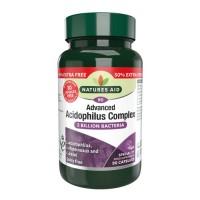 Acidophilus Complex 5 billion 90 κάψουλες Natures Aid / Προβιοτικό