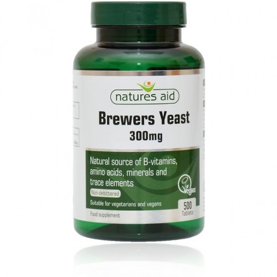 Brewers Yeast 300mg 500 ταμπλέτες - Natures Aid / Βιταμίνες