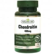 Chondroitin 400mg (χονδροϊτίνη θαλάσσιας προέλευσης) 90 tabs - Natures Aid