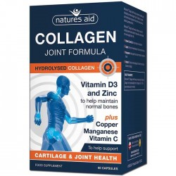 Collagen Joint Formula 60 κάψουλες - Natures Aid / Κολλαγόνο