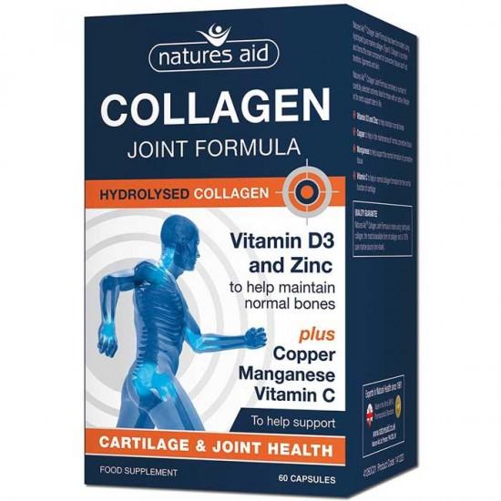 Collagen Joint Formula 60 κάψουλες - Natures Aid / Κολλαγόνο