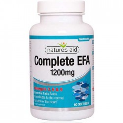 Complete EFA 90 softgels - Natures Aid / Ωμέγα 3, 6, 9