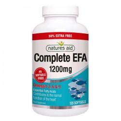 Complete EFA 135 softgels - Natures Aid / Ωμέγα 3, 6, 9