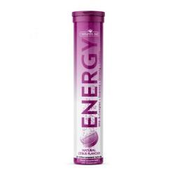 Energy Citrus Flavour 20 Αναβράζοντα Δισκία - Natures Aid