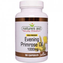 Evening Primrose Oil 1000 mg 90 κάψουλες Natures Aid - Γυναικεία Υγεία