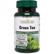 Green Tea 10,000mg 60 Tabs - Natures Aid