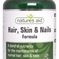 Hair Skin and Nails Formula 90 ταμπλέτες - Natures Aid / Γυναικεία Προϊόντα