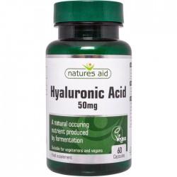 Hyaluronic Acid 50mg 60 κάψουλες - Natures Aid / Υαλουρονικό Οξύ